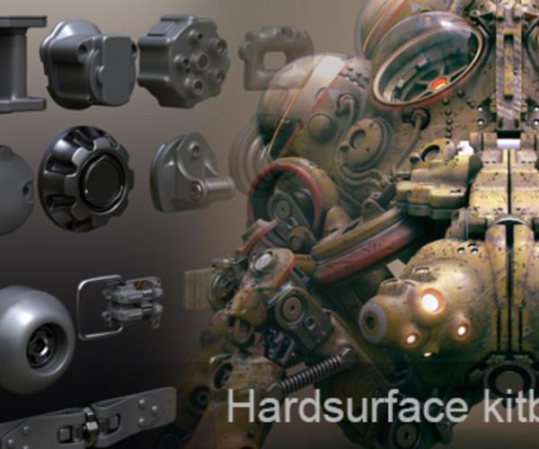 Hardsurface Kitbashset 01