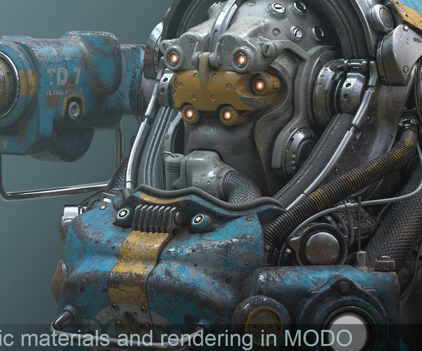 Automatic Materials and Rendering in MODO