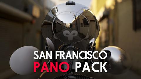 San Francisco | 30HDRIs | Marmoset Pano Pack