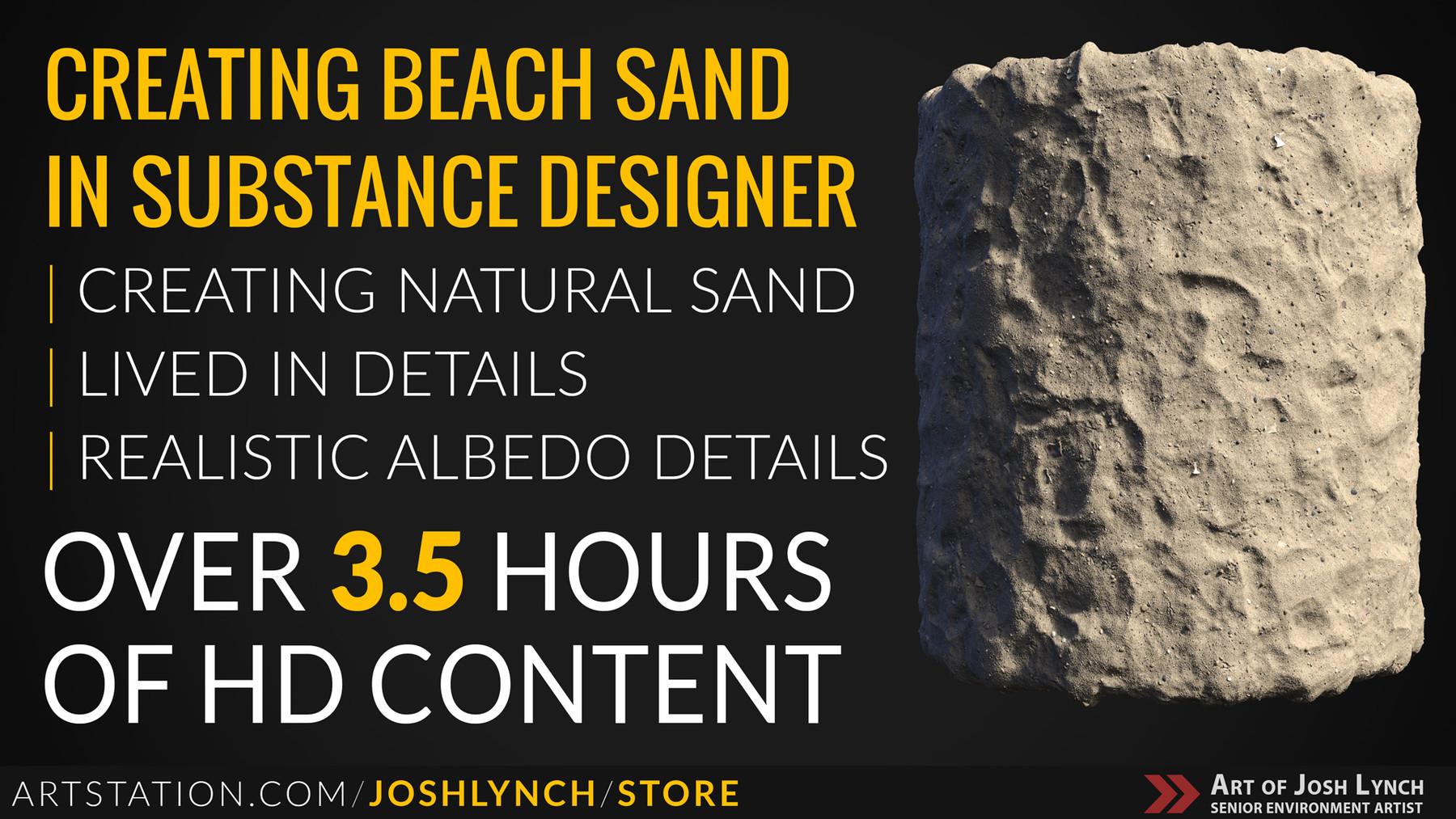 Ground sand artstation layout comp