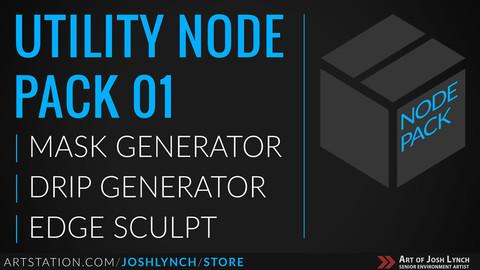Utility node pack artstation banner