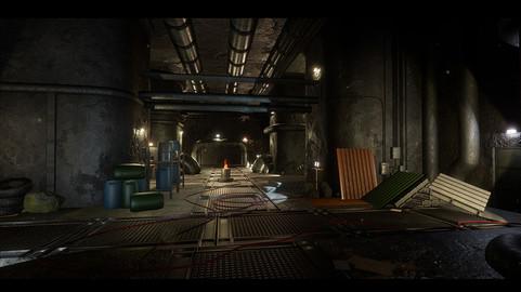 Modular Sewer Pack Survival - Unreal Engine
