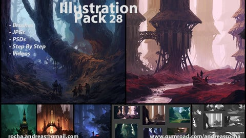 Illustration Pack 28 (not a stock asset)