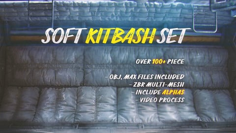 Soft kitbash set vol.1