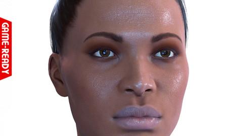 Average Black Female Head