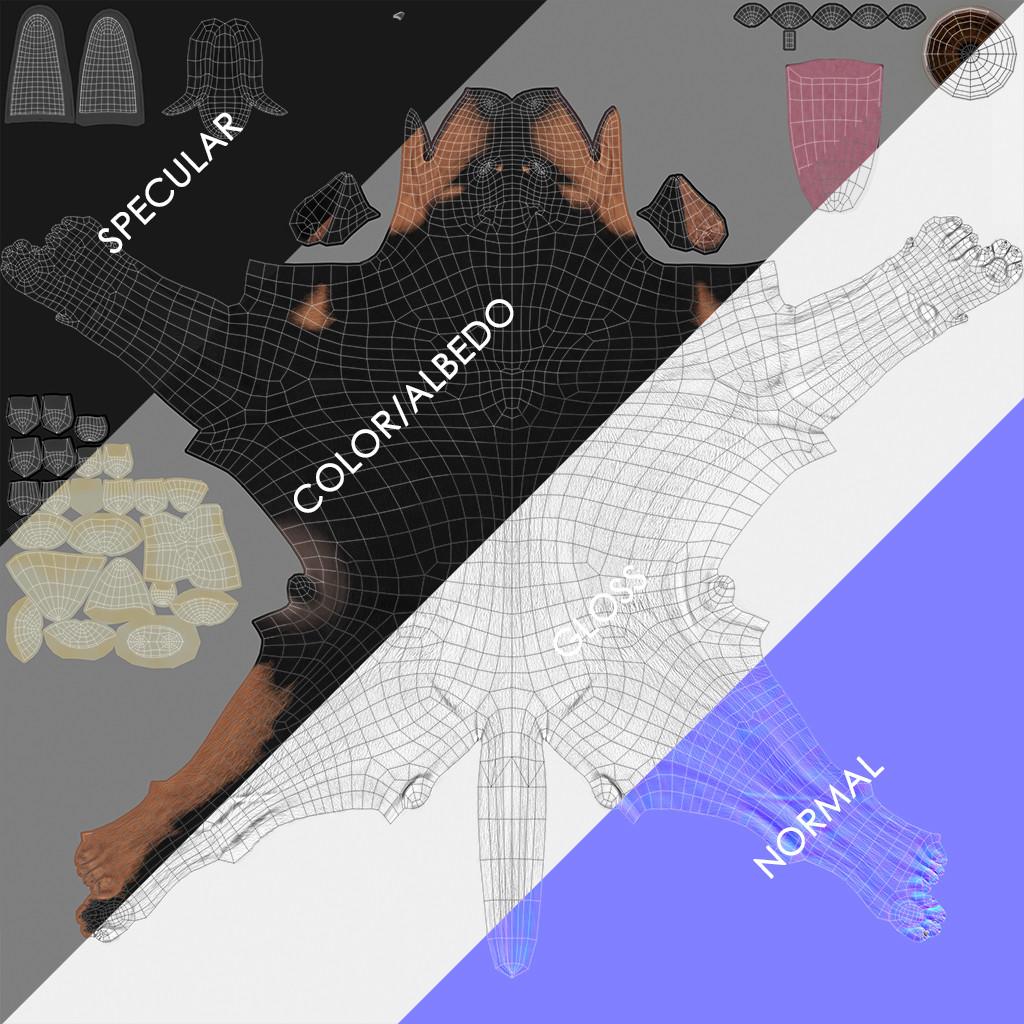 Doberman by alexlashko maps