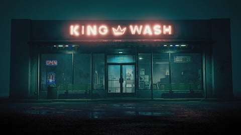 King Wash Laundromat Environment (UE4)