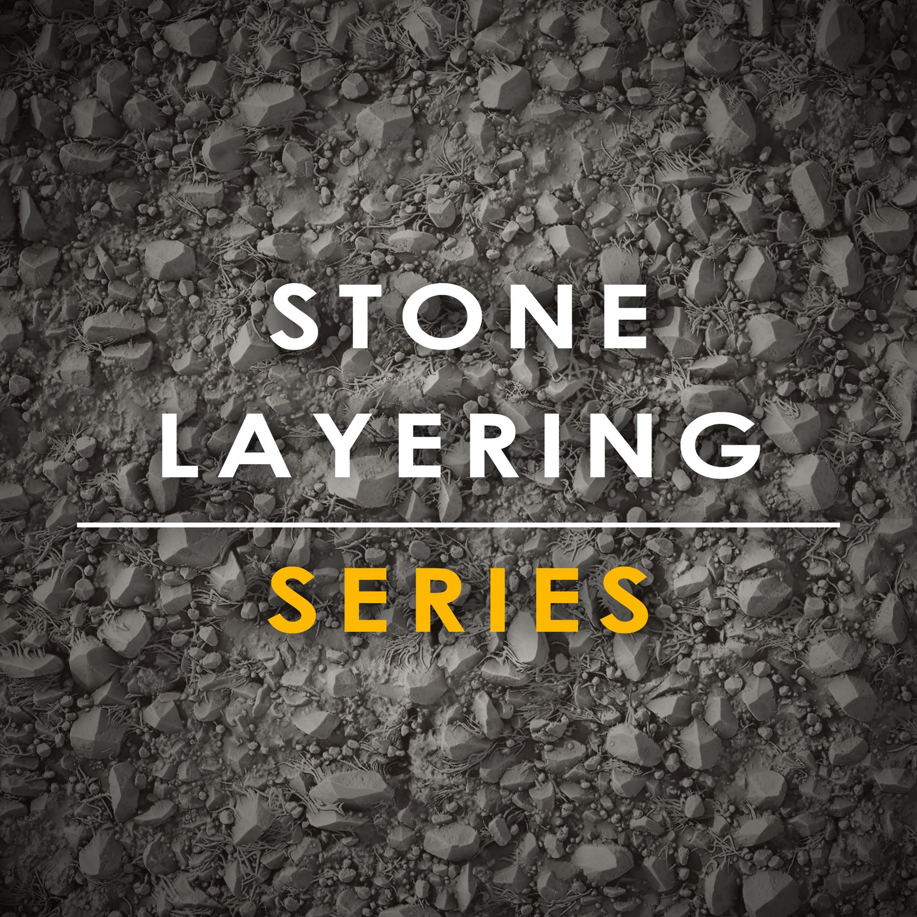 Stone layering tutorial splash