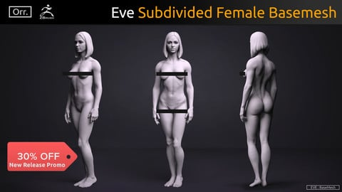 Female BaseMesh - Eve