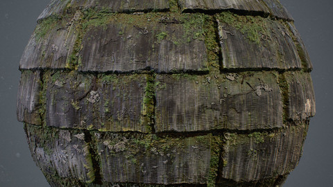 Roof Shingle Material in Substance Designer