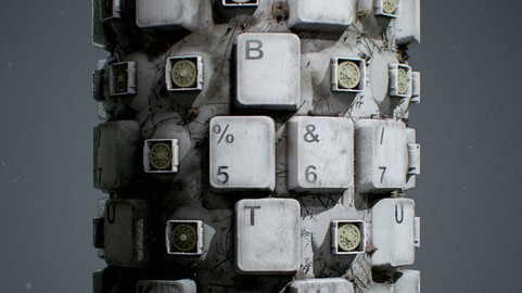 Keyboard Material in Substance Designer