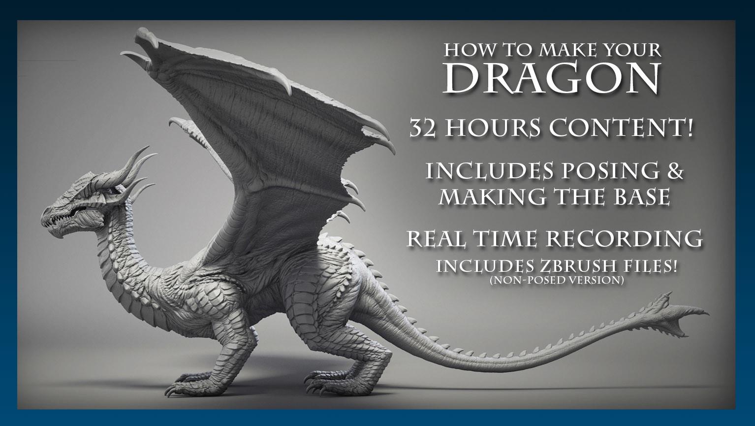 Dragon artstation cover