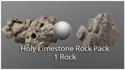 Holy Limestone Rock Scan 9