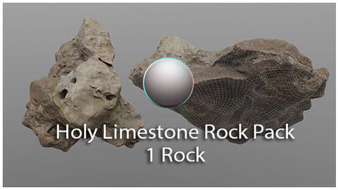 Holy Limestone Rock Scan 7
