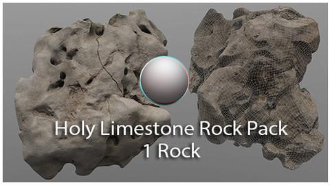 Holy Limestone Rock Scan 5