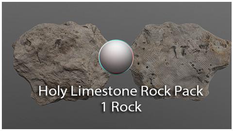 Holy Limestone Rock Scan 3