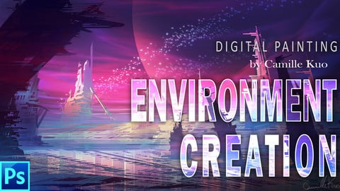 digital painting for environment with Camille Kuo