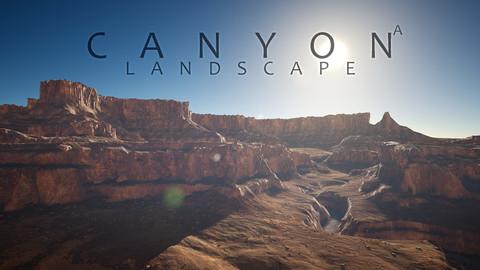 UE4 -Canyon Landscape - A