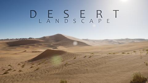 UE4 - Desert Landscape