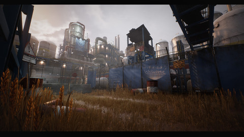 Unreal Engine - Last Bastion, Post-Apocalyptic Industrial site