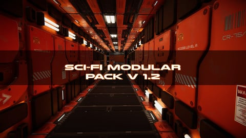 Sci-Fi Modular Pack for Unity engine
