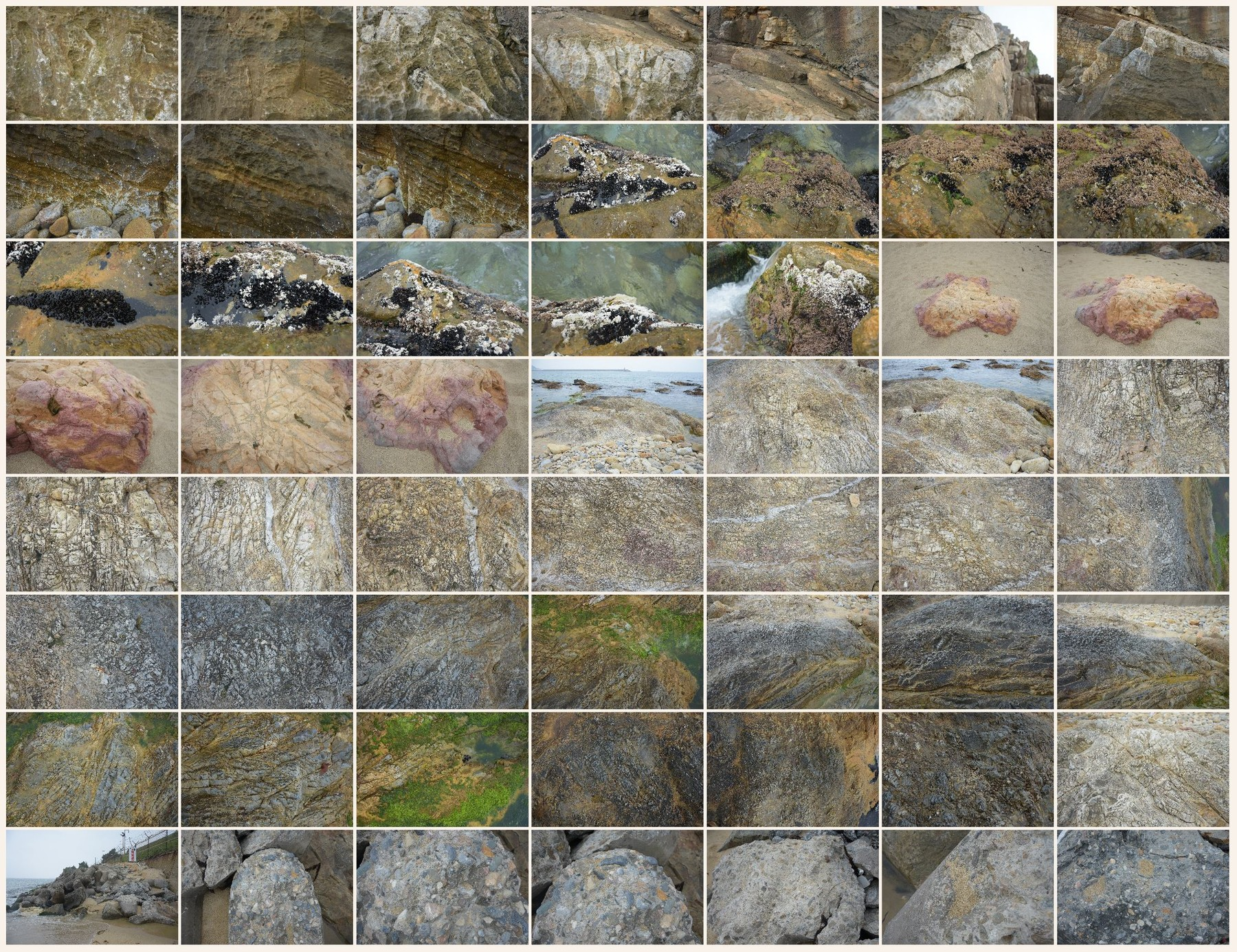 Texture reference pack rocks shore 2