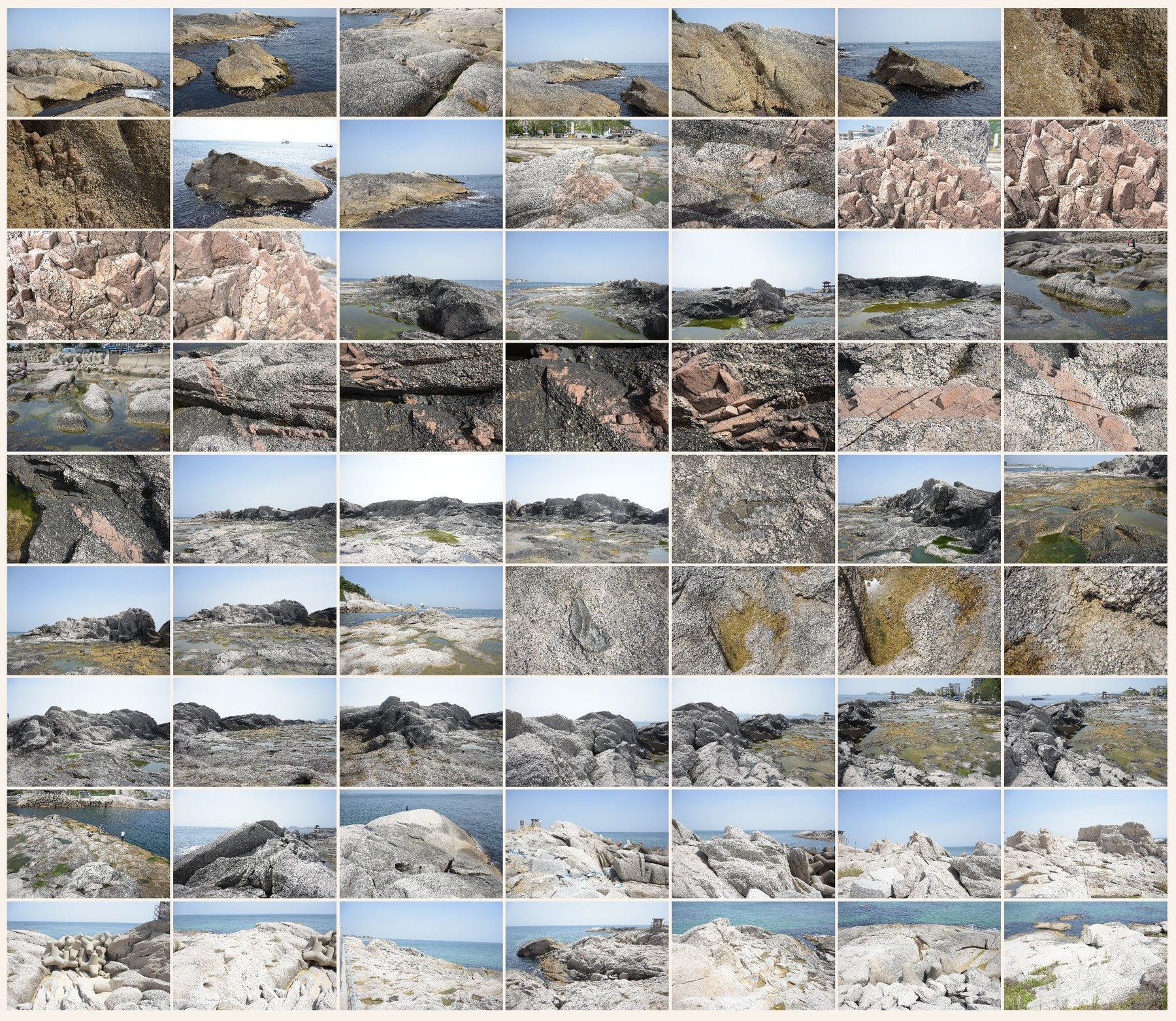 Texture reference pack rocks shore 8
