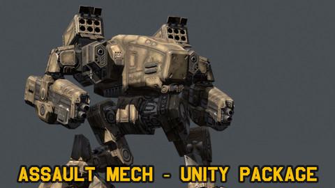 Assault Mech - Unity package