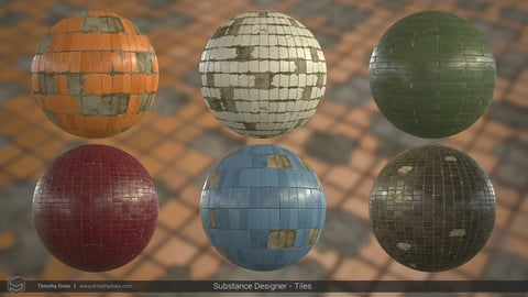 Substance Designer - Tiled Wall/Floor