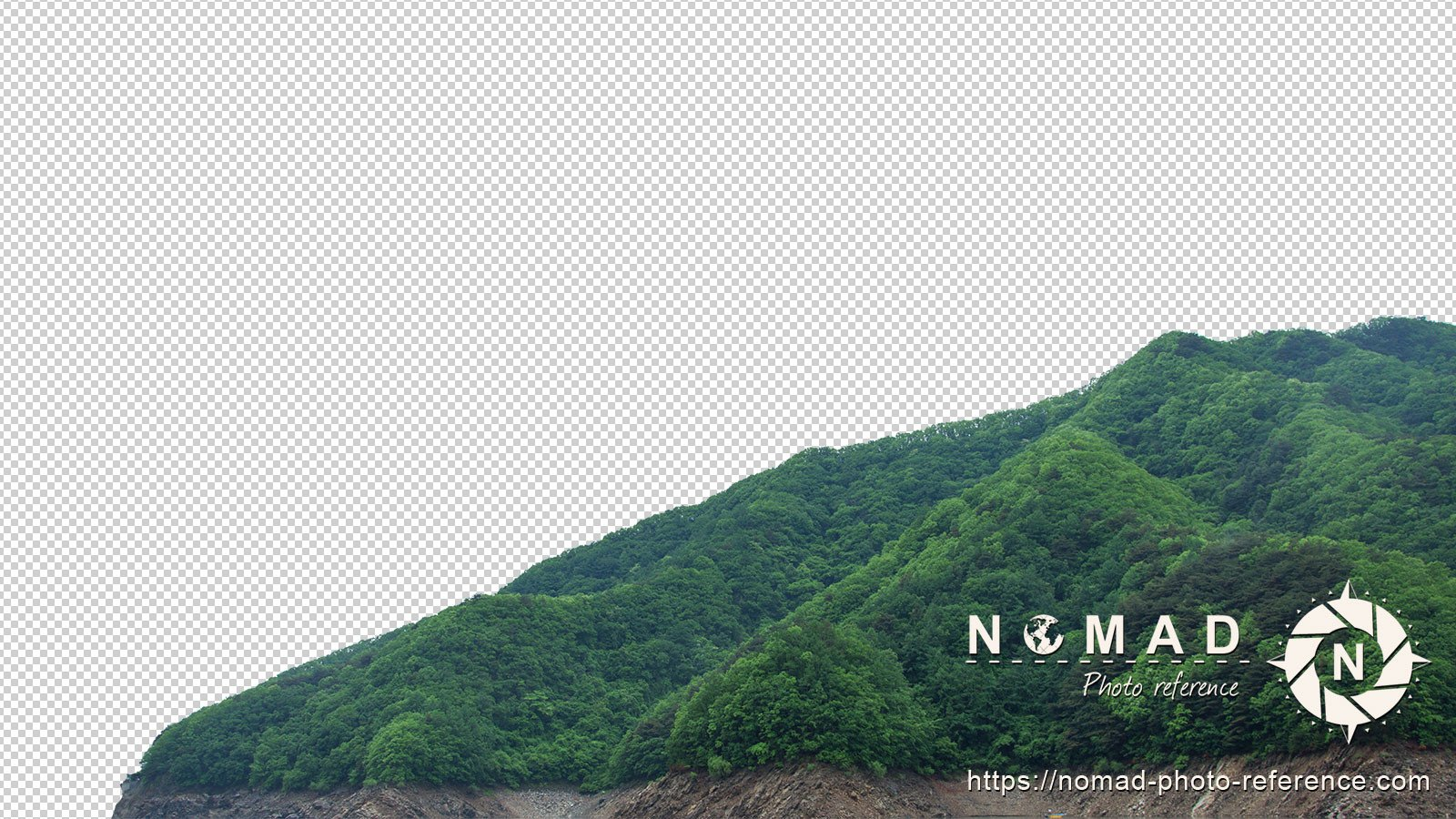 Png cutout photo pack asian moutains 9
