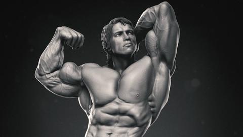 ArtStation - Arnold Schwarzenegger - Mr  Olympia (1974