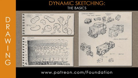 Foundation Art Group - Dynamic Sketching: Basics