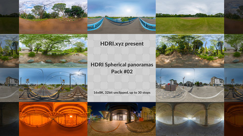 16K 32bit HDRI Spherical Panoramas Pack #02 (Japan)