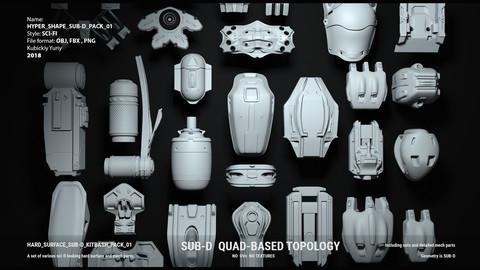 HYPER SHAPE SUB-D PACK 01