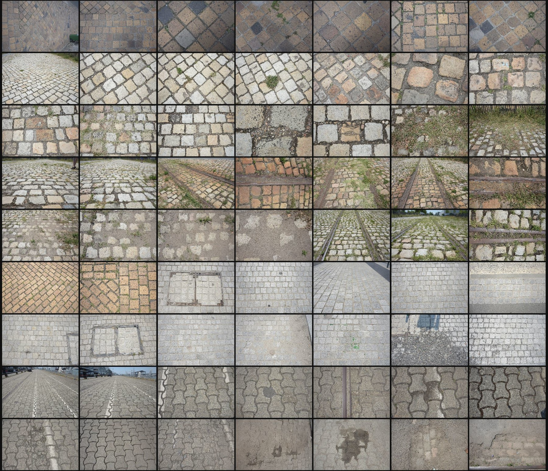 Texture reference pack pavements
