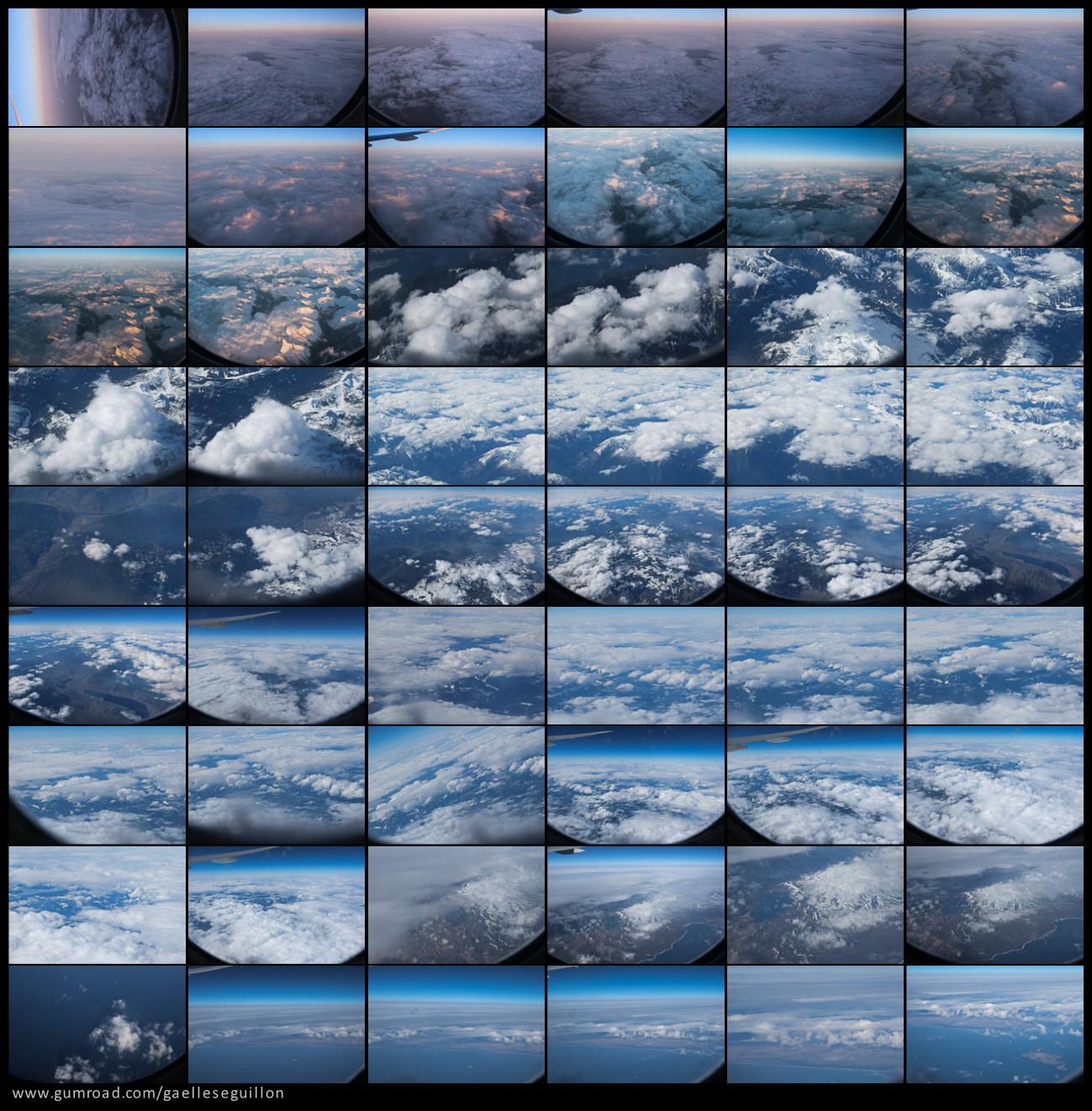 Aerial skies contactsheet 1