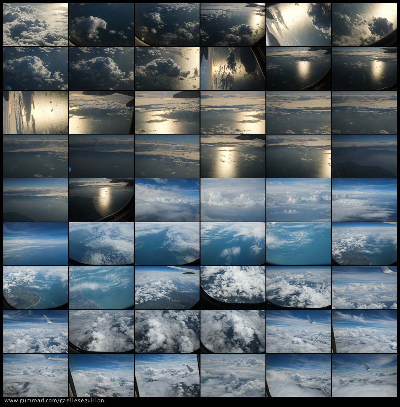 Aerial skies contactsheet 3