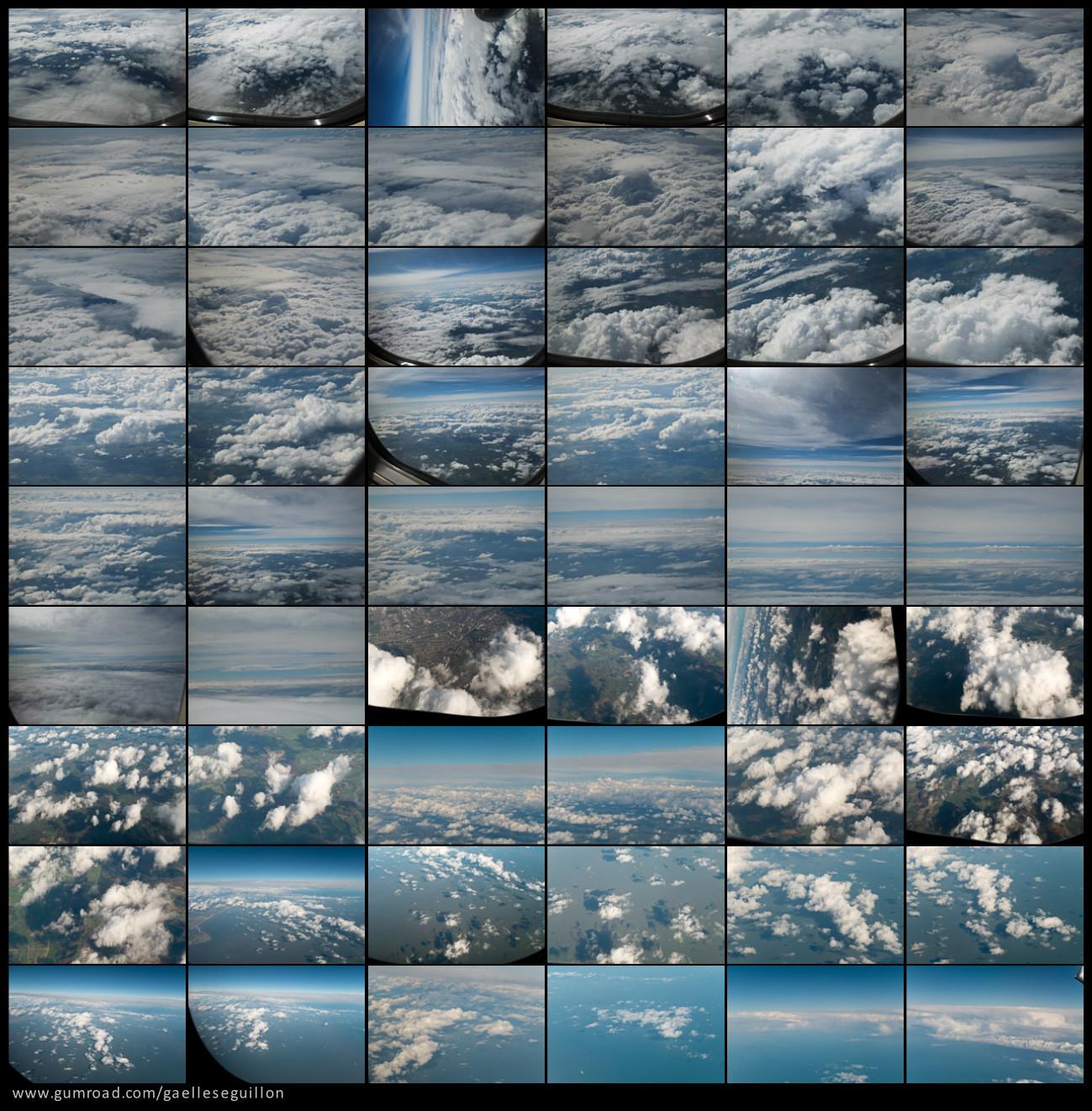 Aerial skies contactsheet 5
