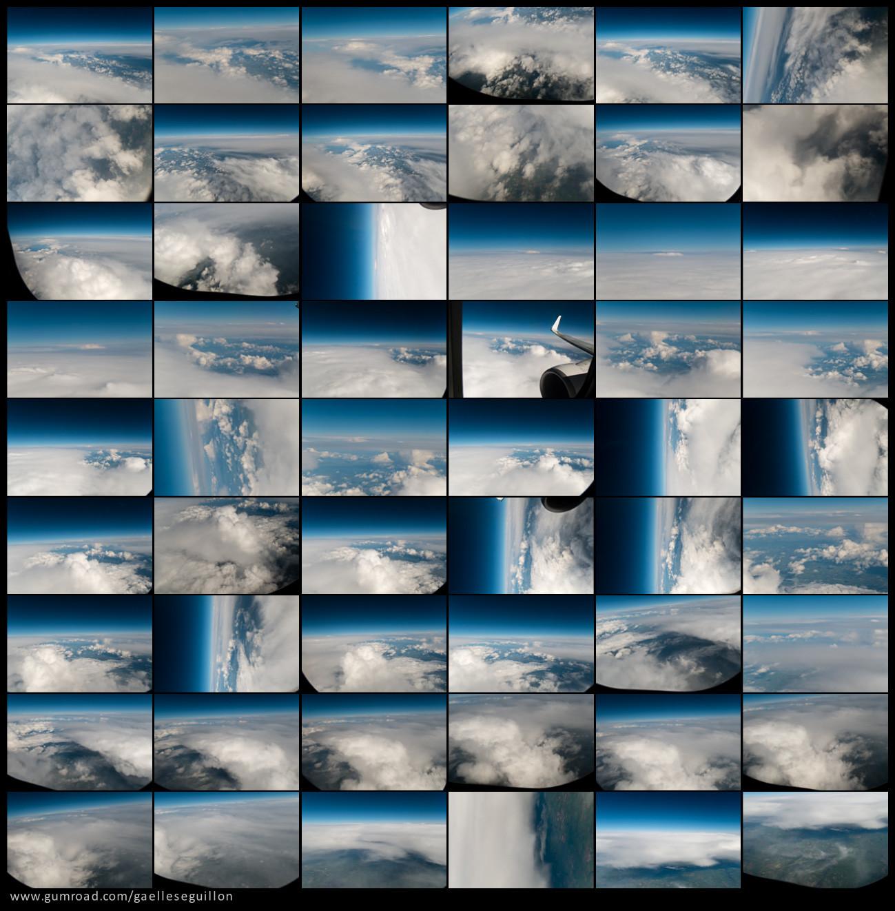 Aerial skies contactsheet 7