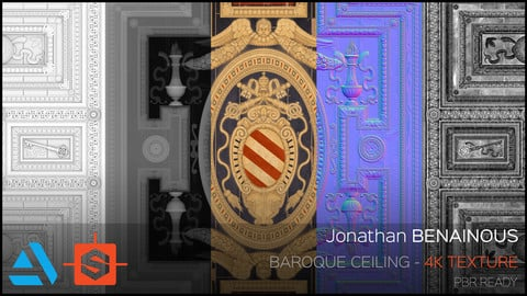 Texture - Baroque Ceiling