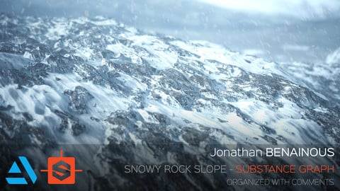 Substance - Snowy Rock Slope