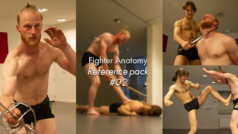 Fighter Anatomy Reference pack #02