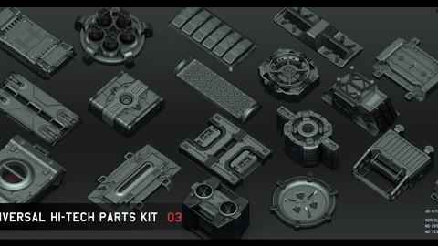 Universal Hi-tech parts kit - part 3