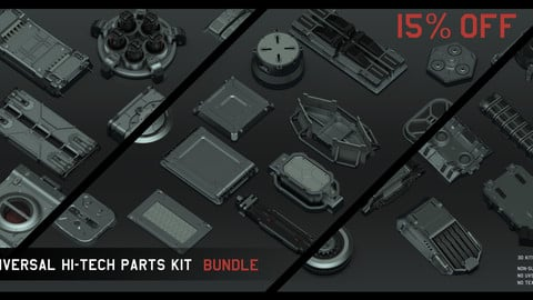 Universal Hi-tech parts kits - Complete Bundle