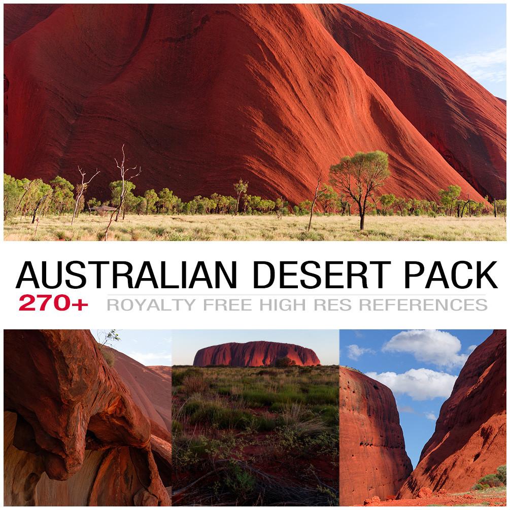 Australian desert cover