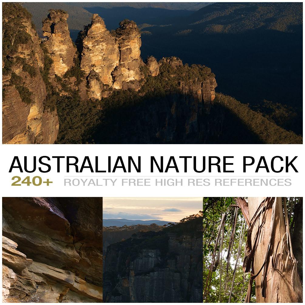 Australian nature cover