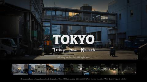 Tsukiji Fish Market - photo pack 2 including night shots ($1 off sale)