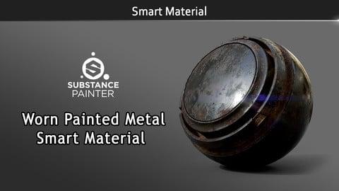 Smart Material: Worn Painted Metal