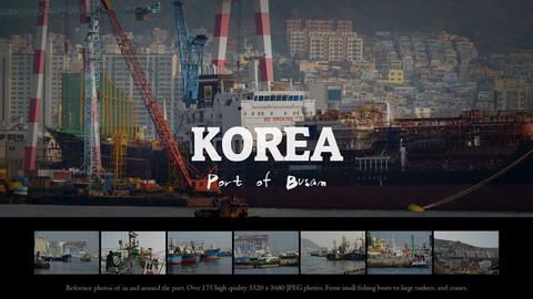 Korea - Port of Busan photo pack