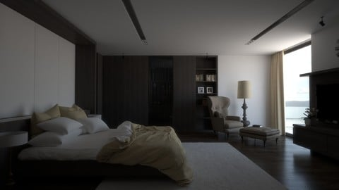 VRay Interior Lighting Tutorial